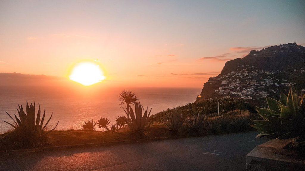 Madeira Sonnenuntergang Cabo Girao