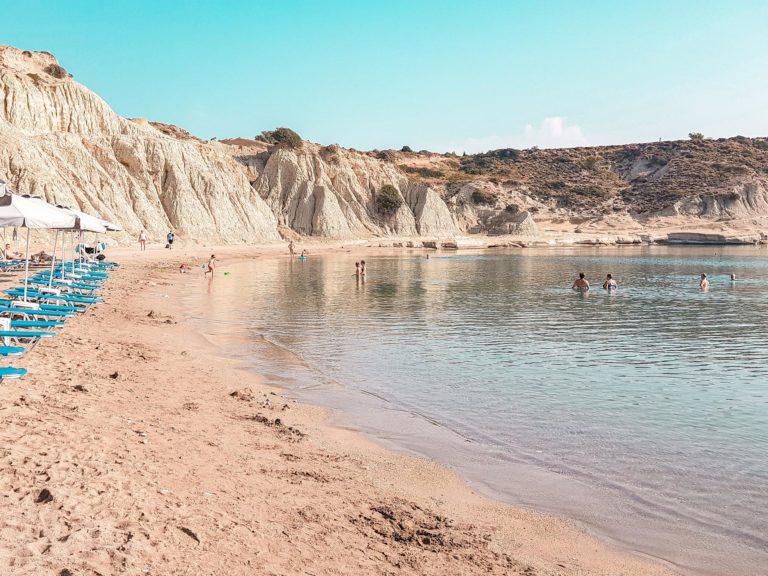 rhodos afantou kolymbia bucht strand