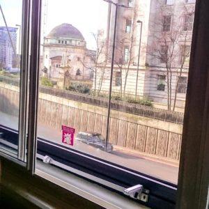 Aussicht aus Hotel