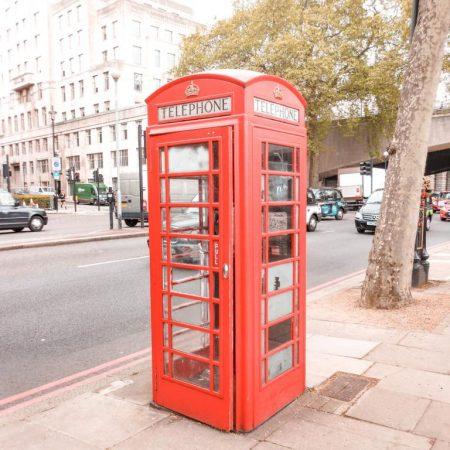 Telefonzelle London
