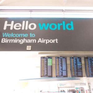 Welcome to Birmingham Airport