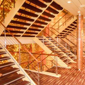 kreuzfahrt schiff treppenhaus